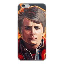 "Чехол для iPhone 6, объёмная печать ""<b>Марти Макфлай</b> ost Назад ..."