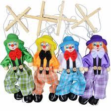 <b>Muppets</b> Baby <b>Toys</b> Hand Finger <b>Puppets</b> Clown Wooden ...