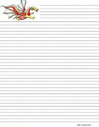 Writing paper  stationery  free printable kids letterhead free lined stationery  printable kids writing paper