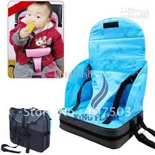 baby infants dining chair booster seat harness portable baby child infant seat bag safety car cushion booster seat ha