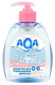 <b>AQA baby Средство для</b> подмывания девочек — купить по ...