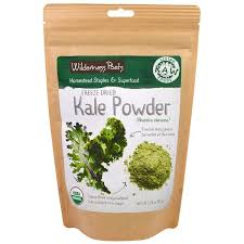 Wilderness Poets, Living Raw <b>Foods</b>, Freeze Dried Kale Powder ...