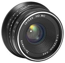 <b>Объектив 7artisans</b> 25mm f/1.8 Fuji <b>X</b> — купить по выгодной цене ...
