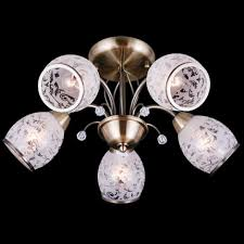 <b>Потолочная люстра</b> на 5 лампочек <b>Eurosvet</b> 30026 30026/5 ...