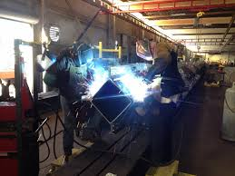 conxtech s structural steel fabrication facility earns canadian conxtech s innovative fixturing positions steel assemblies to be welded horizontally in an ergonomically ideal position