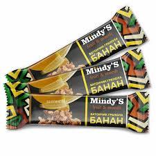 """<b>Батончик</b> MindyS <b>мюсли</b> """"Банан"""", 3 шт. - купить по цене 138 руб. в ..."""