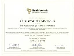 resume simmons computer solutions windows 95 administration