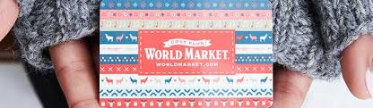 How To Buy a Gift Card | World Market