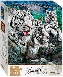 <b>Пазл</b>. <b>Step Puzzle</b>. Найди 13 <b>тигров</b>. 1000 элементов (79808)