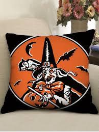 [56% OFF] <b>Halloween Theme Patterned Decorative</b> Pillowcase ...