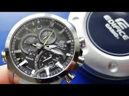 Прорыв в часовой индустрии EQB-500 - от CASIO - YouTube