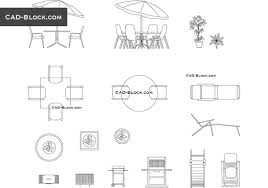 cad blocks drawings autocad outdoor furniture free cad file  outdoor furniture outdoor furniture f