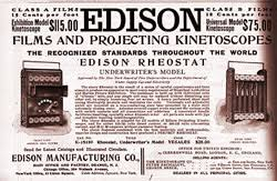 「1891, edison's Kinetoscope first opened to public」の画像検索結果