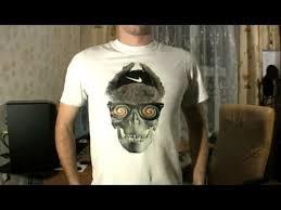Как печатать фото на футболке, а? - YouTube