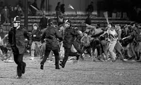 Image result for rioting fans