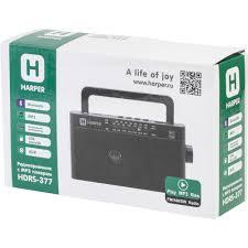 <b>Радиоприемник Harper HDRS-377</b> (1002133913) купить в Москве ...