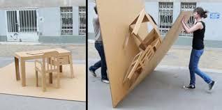 pop up office cardboard cardboard office