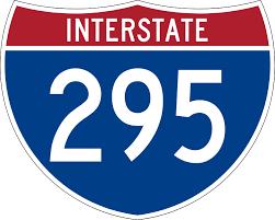 Interstate 295 in Delaware und New Jersey