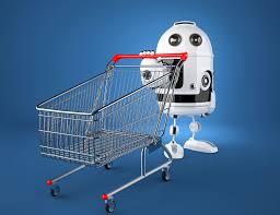 Image result for robots delivering shopping