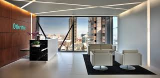 office design layout ideas with reception desks modern office reception desk