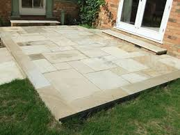 patio slab sets: matching wall surrounds or raised planting beds can be built to suit your tastes and we can incorporate steps if needed to make access to your garden