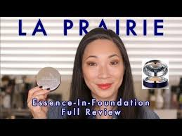 <b>LA PRAIRIE</b> - Essence-In-<b>Foundation</b> Full Review! - YouTube