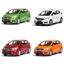 <b>1/32 Scale</b> Honda Fit <b>Diecast Alloy</b> Pull Back <b>Car</b> Model Collectable ...