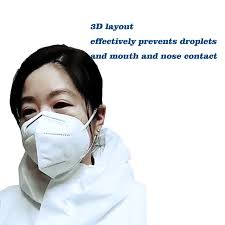 China <b>6</b>-<b>Ply</b> Ffp2, <b>Kn95 Face</b> Mask, 3D Nano Facial Protective Mask ...