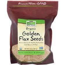 <b>Real Food</b>, <b>Organic Golden</b> Flax Seeds, 32 oz (907 g) - Walmart.com