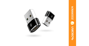 საუკეთესო ფასი <b>Baseus Exquisite USB</b> Male to Type-C Female ...