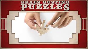 Brain Busting <b>Puzzles</b> - 4 <b>Classic Wooden Puzzles</b> - The Grid ...