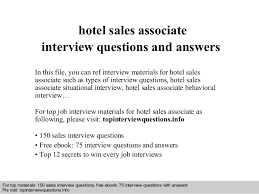 retail sales associate training  sales associate training     hotel sales associate interview questions and answers     s associate