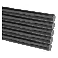 <b>Клеевые стержни REXANT</b> d=7 мм, L=200 мм, черные (упак. 10 шт.)