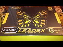 <b>Super flower</b> leadex gold 650W <b>power supply</b> unboxing - YouTube