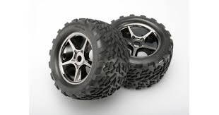 Покрышка <b>колеса</b> и диск <b>колеса в сборе</b>, 2 шт. <b>Traxxas</b> 5374X.