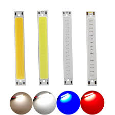 [<b>ALLCOB</b>] <b>hot sale 3V</b> 3.7V DC 60x8mm LED COB Strip 1W 3W ...