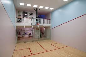 Modern Indoor Home Basketball Courts Plans and Designs    house  small gym indoor home basketball courts