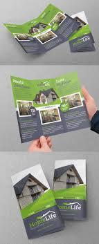 best tri fold brochure design templates real estate tri fold template