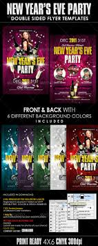 best posters and flyers templates of new year design new years eve party flyer templates