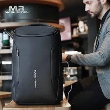 Mark Ryden 2019 New Anti-thief Fashion <b>Men Backpack</b> ...