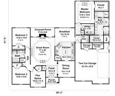 Ranch   master on main level and three bedrooms in the walkout    Ranch   master on main level and three bedrooms in the walkout basement    unique    House Plans   Pinterest   Walkout Basement  Basements and Masters