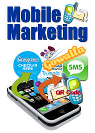 Mobile marketing integrates various applications.
