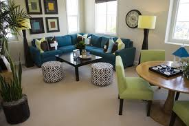 image of beautiful small scale sectional sofa apartment scale furniture