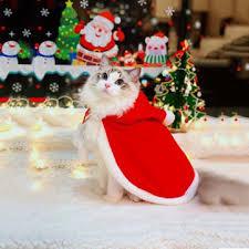 <b>christmas pet</b> clothes creative <b>pet cloak</b> hooded <b>christmas dog cat</b> ...
