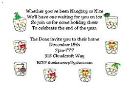 Christmas Cocktail Party Invitations - Large Selection 2015
