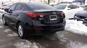 Black Mazda 3 2014 Mazda3 Sedan Gs Model In Jet Black Mica Youtube
