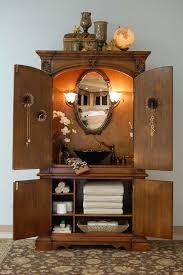 making bathroom cabinets: unusual bathroom cabinets black polished teak wood bathroom vanity