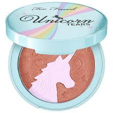 <b>Too Faced Unicorn Tears</b> Bronzer - Life's A Festival Collection ...