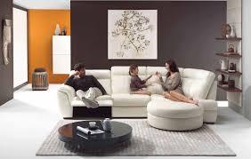 exposed black white living room furniture