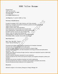 hsbc letter head letter format mail hsbc letter head hsbc teller jobs mba recommendation letter samples sample bank objective for teller resume objective for objective for teller jpg